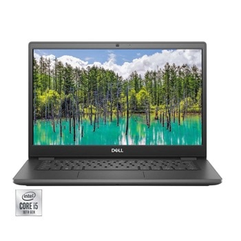 "Лаптоп Dell Latitude 3410 (DL3410I515898541U)(сив), четириядрен Comet Lake Intel Core i5-10310U 1.7/4.4 GHz, 14.0"" (35.56 cm) Full HD Anti-Glare Display, (HDMI), 8GB DDR4, 256GB SSD, 1x USB 3.2 Gen 1 Type-C, Linux Ubuntu image"