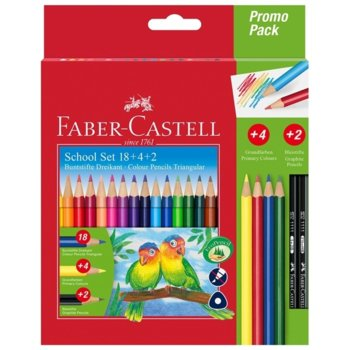 Цветен молив Faber-Castell Triangular 18+4+2 product