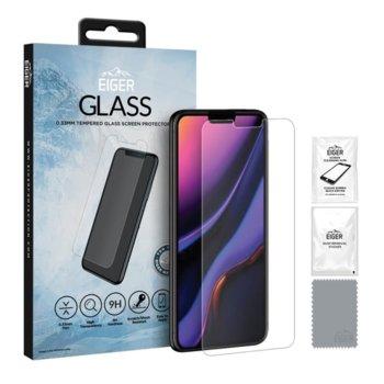 Протектор от закалено стъкло /Tempered Glass/ Eiger EGSP00519 за Apple iPhone 11 Pro, прозрачен image