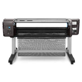 "Плотер HP DesignJet T1700, цветен, 44""(1118 mm), 2400 x 1200 dpi, 500 GB HDD, LAN1000, USB 2.0, A0 image"