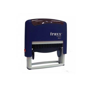 Автоматичен печат Traxx 9017 син, 50/10 mm, правоъгълен image