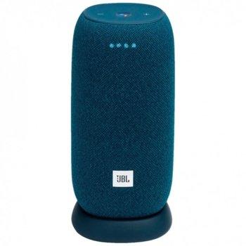 Тонколона JBL Link Por Blue, 1.0, 20W, синя, Wi-Fi, Chromecast built-in, AirPlay 2, Bluetooth  image