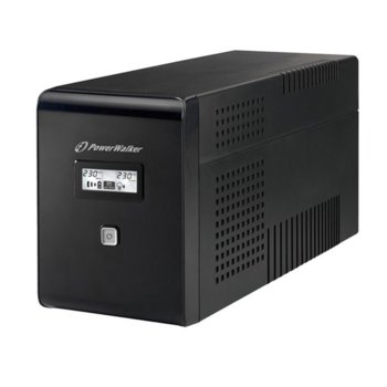 UPS Powerwalker VI 2000 LCDVA UPS, 2000VA/1200W, Line Interactive  image