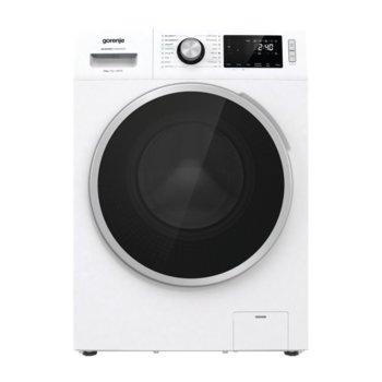 Перална със сушилня Gorenje WD10514, клас A, 10 кг. капацитет на пералня, 7 кг. капацитет на сушилня, 1400 оборота, свободностояща, 60cm. ширина, 16 програми, LED дисплей, бяла image