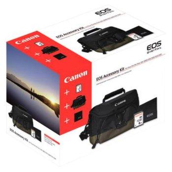 Чанта за фотоапарат Canon 100EG (EOS Accessory Kits), в пакет с 8GB SD card и кърпичка Canon Lens Cleaning Cloth image