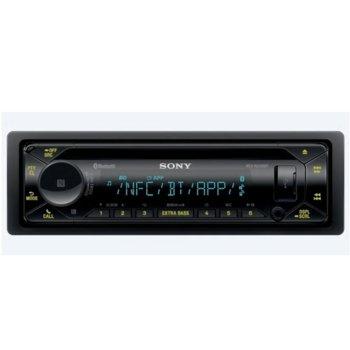 Аудио система за кола Sony MEX-N5300BT, 4x55 W, Dual Bluetooth, NFC, AUX, USB, вграден тунер за FM радио image
