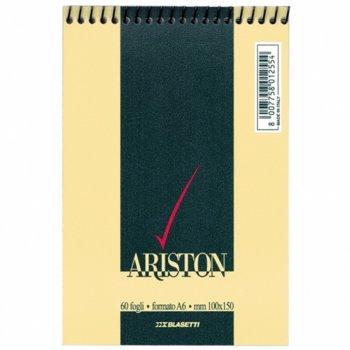 Бележник Blasetti Ariston 22078, формат A6, oфсетова хартия, 60 листа, спирала image