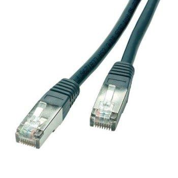 Пач кабел Vivanco 20245, 20m, екраниран, UTP, Cat 5e, сив image