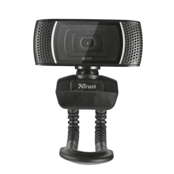 Уеб камера Trust Trino, HD, микрофон, USB, черна image