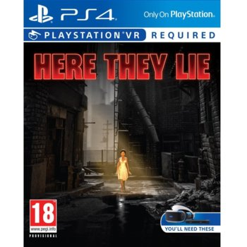 Игра за конзола Here They Lie VR, за PS4 image