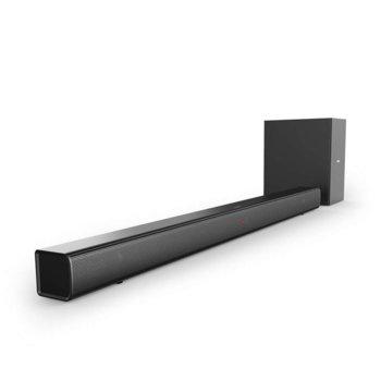 Soundbar система Philips HTL1510B, 2.1, Bluetooth, 1x Optical In, 70W (2x 15W + 1x 40W), черен image