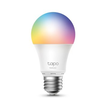 Смарт крушка TP-Link Tapo L530E, 8.7 W, 806 lm, Wi-Fi, Android/iOS, RGB image