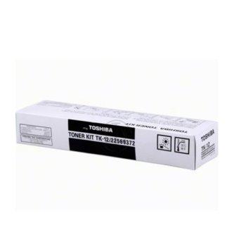 Тонер за Toshiba TF 501/TF 505/TF 601/TF 605/TF 610 - Black - TK-12- Заб.: 1 500k image