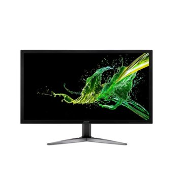 "Монитор Acer KG281KAbmiipx (UM.PX1EE.A01), 28"" (71.12 cm) TN панел, UHD/4K, 1ms, 100 000 000:1, 330cd/m2, DisplayPort, HDMI image"