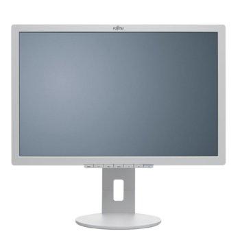 """Монитор Fujitsu B22-8 WE Neo EU,(S26361-K1653-V140) 22"""" (55.88 cm)TN панел, WSXGA+, 5ms, 250 cd/m2, 20,000,000:1, DisplayPort, DVI-D, VGA, USB image"""