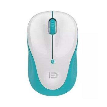 Мишка D V10B, оптична(1200dpi), безжична, Bluetooth, бял image
