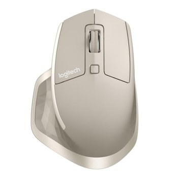 Мишка Logitech MX Master, лазерна (1000 dpi), безжична, USB, бежева image