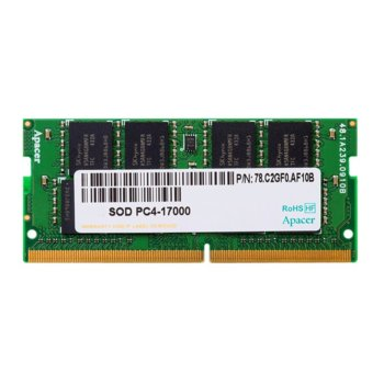 Apacer 4GB DDR4 2133MHz SODIMM  product