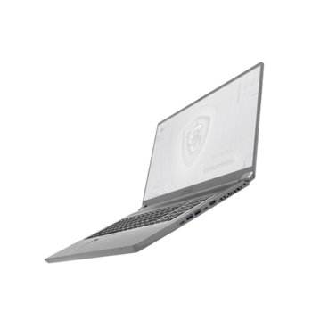 "Лаптоп MSI WS75 10TK (WS7510TKRTX30006GFHD144)(сив), осемядрен Comet Lake Intel Core i7-10875H 2.3/5.1 GHz, 17.3"" (43.94 cm) Full HD IPS 144Hz Display & Quadro RTX 3000 6GB, (HDMI), 32GB DDR4, 1TB SSD, 1x USB Type-C, Windows 10 Pro image"