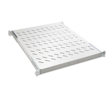 """19"""" shelf, depth 800mm with 2 supporting brackets image"""