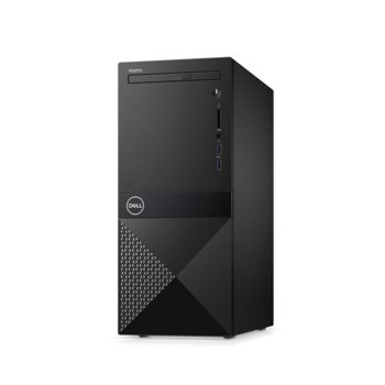 Настолен компютър Dell Vostro 3670 MT (N112VD3670BTPEDB03_1901), шестядрен Coffee Lake Intel Core i5-8400 2.8/4.0 GHz, 256GB SSD, 2x USB 3.1, клавиатура и мишка, Linux  image