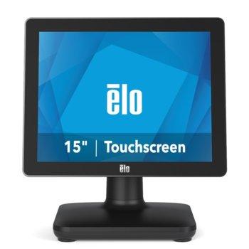 "Тъч компютър Elo E931706 EPS15S3-2UWB-1-MT-4G-1S-NO-00-BK, четириядрен Coffee Lake Intel Core i3-8100T 3.1 GHz, 4GB DDR4, 128GB SSD, 15"" (38.1 cm) HD Anti-Glare Touchscreen Display, 4GB DDR4, 128GB SSD, 3x USB 3.0, No OS image"