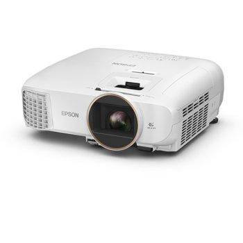 Проектор Epson EH-TW5650, 3D, 3LCD, Full HD (1920 x 1080), 60,000:1, 2500 lm, HDMI, USB Type A, USB Type B, VGA, Wi-Fi image