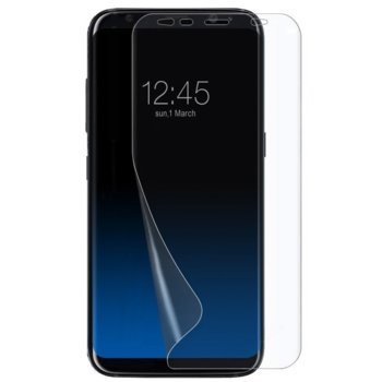 Протектор от закалено стъкло /Tempered Glass/ PET за Samsung S10, силиконов image
