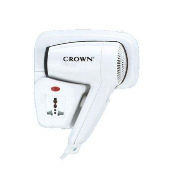 Сешоар Crown CHD-1201 WS, 1200W, терморегулатор, автоматичен предпазител, бял  image