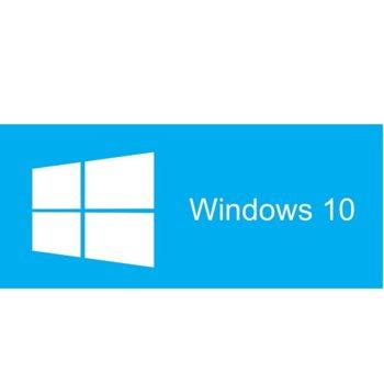 Операционна система Microsoft Windows 10 Pro, 64-bit Български, 1pk DSP DVD image