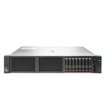 Сървър HPE DL180 G10 (PERFDL180-004), осемядрен Cascade Lake Intel Xeon-Silver 4208 2.1/3.2 GHz, 16GB RDIMM DDR4, без твърд диск, 2x 1GbE, 4x USB 3.0, без ОС, 1x 500W image