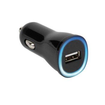 Зарядно за кола Vivanco 36256, 2.1A, USB A(ж), черно image