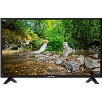 "Телевизор Crown 19J110HD, 19"" (48 cm) HD LED LCD TV, DVB-T/T2/C/MPEG4, HDMI, USB, VGA image"