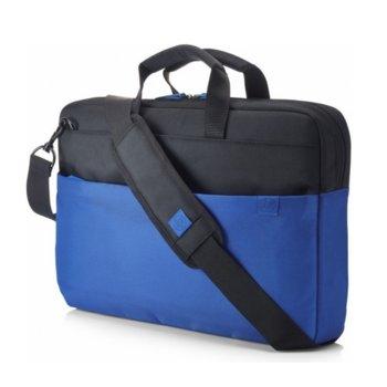 "Чанта за лаптоп HP Duotone Blue BriefCase, до 15.6"" (39.62 cm), синя  image"
