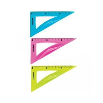 Триъгълник Centrum 14cm Flexible, огъваем, цена за 1бр. image