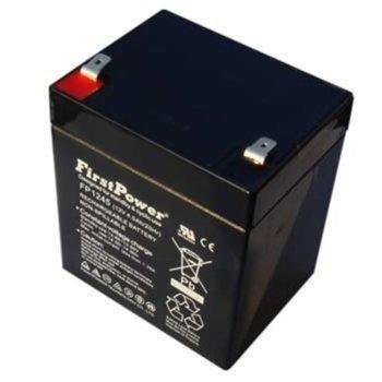 Акумулаторна батерия First Power FP1245T1, 12V, 4.5 Ah, GEL image