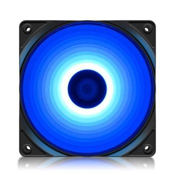 Вентилатор 120mm DeepCool (RF120-BL), (3 Pin), 1300 RPM, 1 брой image