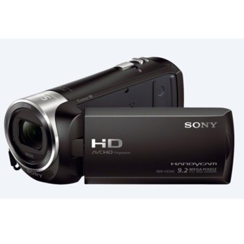 "Видеокамера Sony HDR-CX240E, Full HD, 3.0 ""(7.6 cm), 27x Optical zoom, micro SD слот, Micro HDMI, USB, черна image"