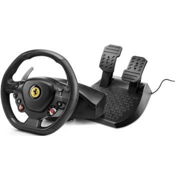 Волан с педали Thrustmaster T80 Ferrari 488 GTB Edition - PC, PS4 image