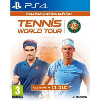 Tennis World Tour - Roland-Garros Edition PS4 product