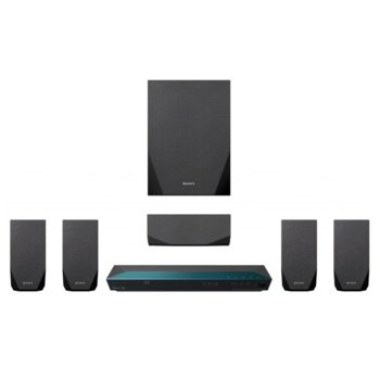 Soundbar система за домашно кино Sony BDV-E2100, 5.1 канална, Bluetooth, HDMI, USB, 100W + subwoofer image