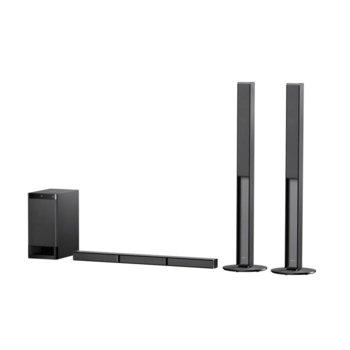 Soundbar система за домашно кино Sony HT-RT4, 5.1, Bluetooth, Bluetooth, USB, 600W, черна image