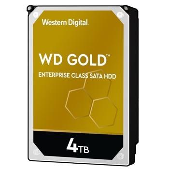 """Твърд диск 4TB, Western Digital Gold Datacenter, SATA 6Gb/s, 7200 rpm, 3.5""""(8.89cm) image"""