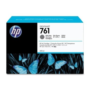 Мастило за HP DesignJet T7100 - Dark Gray - 761 - P№ CM996A, 400ml image