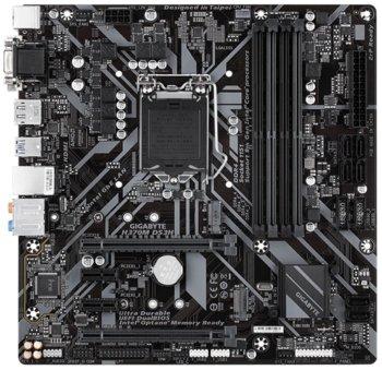 Дънна платка GIGABYTE H370M DS3H, H370, Socket 1151, 4 x DDR4, PCI-E(HDMI,D-SUB,DVI),6 x SATA 6Gb/s, 6 x USB 2.0/7 x USB 3.1/1 x USB Type-C, Support for Windows 10 64-bit, Micro ATX image