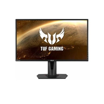 "Монитор Asus TUF VG27BQ, 27"" (68.58 cm) TN панел, 165Hz, WQHD, 0.4ms, 350cd/m2, DisplayPort, HDMI image"