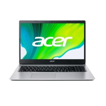 "Лаптоп Acer Aspire 3 A315-35-C2QE (NX.A6LEX.009)(сребрист), четириядрен Jasper Lake Intel Celeron N5100 1.1/2.8 GHz, 15.6"" (39.62 cm) Full HD Anti-Glare Display, (HDMI), 4GB DDR4, 256GB SSD, 2x USB 3.0, Linux image"