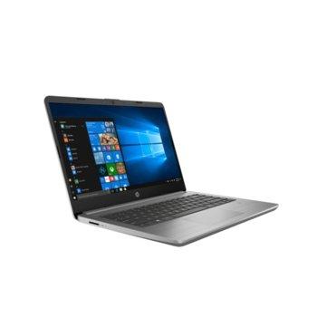 "Лаптоп HP 340S G7 (8VV01EA)(сребрист), четириядрен Ice Lake Intel Core i5-1035G1 1.0/3.6 GHz, 14"" (35.56 cm) Full HD IPS Anti-Glare Display, (HDMI), 8GB DDR4, 256GB SSD, 1x USB 3.1 Type-C, Windows 10 Pro  image"