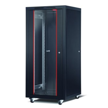 "Комуникационен шкаф Formrack CSM-32U6060, 19"", 32U, 600 x 600 mm, черен image"