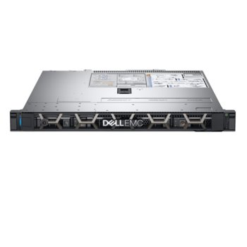 Сървър Dell PowerEdge R340 (#DELL02417_1), шестядрен Coffee Lake Intel Xeon E-2136 3.3 GHz, 16GB DDR4 ECC UDIMM, 2x 1TB HDD, 2x 1GbE LOM, 2x USB 3.0, без ОС, 1x 350W PSU image